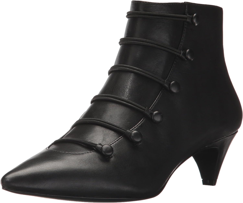 Nine West Women's Zadan Leather Ankle Boot