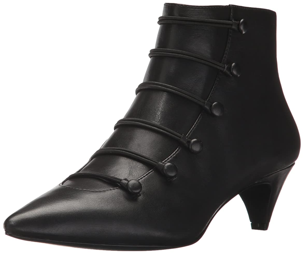 テメリティスチュワーデス手のひら[ナインウエスト] Women's Zadan Leather Ankle Boot [並行輸入品]