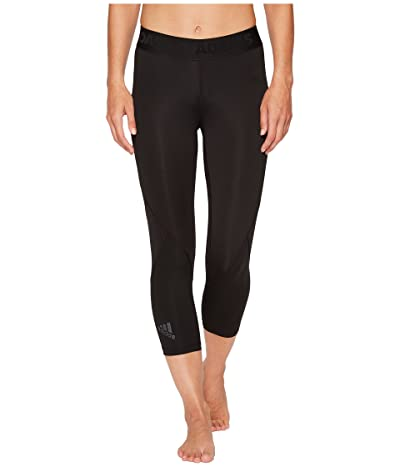 adidas Alphaskin Sport 3/4 Tights (Black) Women