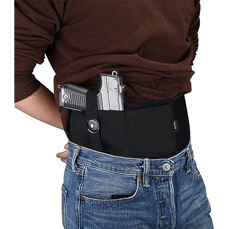 Cintura Elastica Regolabile in Neoprene per la Pistola Fondina per Il Trasporto Nascosto Fondina per Cintura Cintura Nascosta per Il Trasporto Fondina per Pistola Fondina per Fascia Addominale