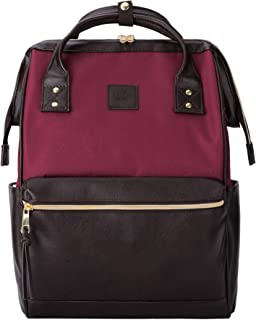 Kah&Kee Laptop Backpack Teacher Bag Stylish School Travel Perfect Commuting Backpack..