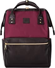 Kah&Kee Laptop Backpack Teacher Bag Stylish School Travel Perfect Commuting Backpack..