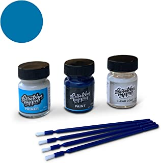ScratchesHappen Exact-Match Touch Up Paint Kit Compatible with Hyundai Electric Blue (US2) - Preferred