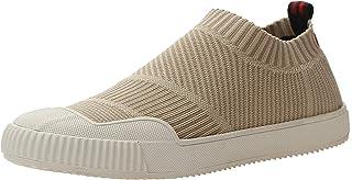 VOCANU TRE 英国 春夏新款弹力袜子鞋低帮飞织高品质冷粘鞋休闲女鞋