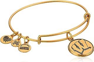 Alex and Ani University of Wisconsin Rafaelian Bangle Bracelet