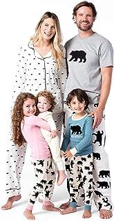 Bear Family Pyjamas Conjuntos de Pijama para Mujer
