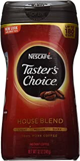 Nescafe Taster's Choice House Blend Instant Coffee, 14 oz.