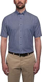 Eterna Half Sleeve Shirt Modern FIT Poplin Checked
