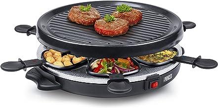 Princess 162725 grillset met antiaanbaklaag voor 6 personen – 800 watt