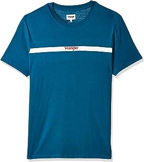 Wrangler Men's SS STRIPE LOGO TE Men's T-Shirts