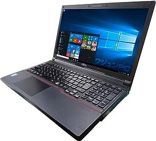 富士通 ノートPC A744/MS Office 2019/Win 10/15.6型/10キー/Core i7-4600M/16GB/1TB SSD (整備済み品)