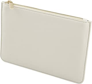 Cathy's Concepts Vegan Leather Clutch, Pebble