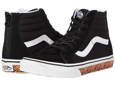Vans Kids SK8-Hi Zip (Big Kid) ( Girls Shoes