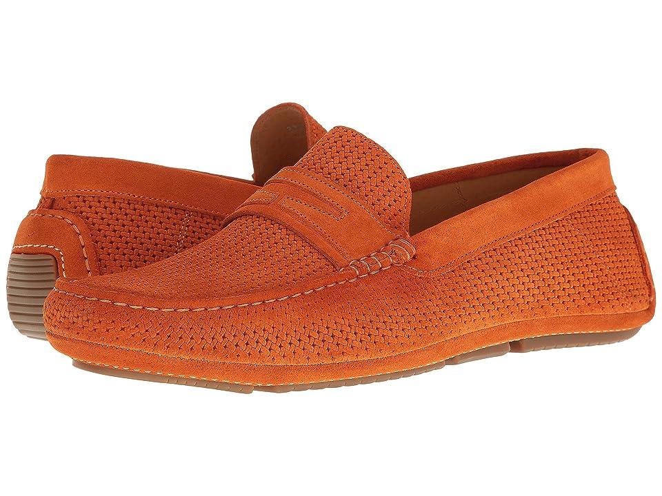 Aquatalia Bruce (Orange Suede) Men
