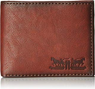 Levi's Men's Leather Passcase Wallet