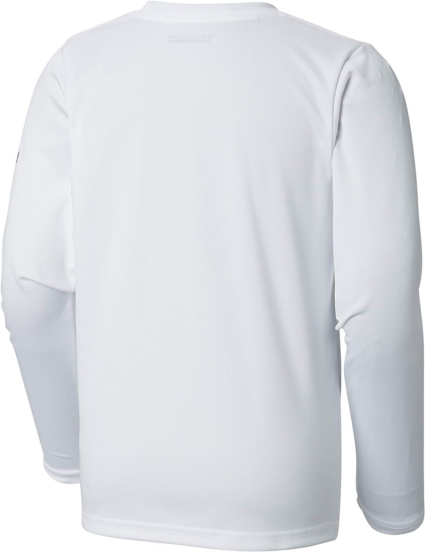 Columbia Boys Terminal Tackle Triangle Fill Long Sleeve Shirt