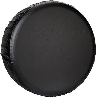 Leader Accessories Universal Spare Tire Cover for Jeep, Trailer, RV, Truck and All car Wheel (Black Premium, 26