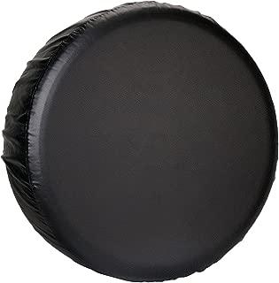 Leader Accessories Universal Spare Tire Cover for Jeep, Trailer, RV, Truck and All car Wheel (Black Premium, 24