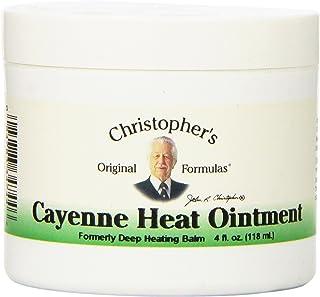 Dr Christopher's Formula Cayenne Heat Ointment, 4 Fluid Ounce