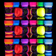 black light fluorescent paint