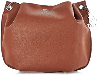 Luxury Fashion | Guess Womens HWVG6853030COGNAC Brown Shoulder Bag | Fall Winter 19