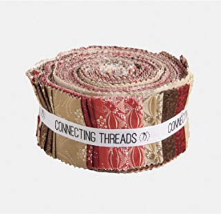 Connecting Threads Print Collection Precut Quilting Fabric Bundle 2.5
