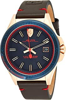Ferrari Casual Watch For Men Analog Leather - 830461