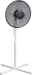 AmazonBasics — ventilador de pie oscilante de 3velocidades, 40W, Negro