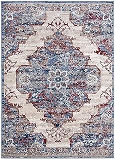 Luxe Weavers Magnolia Oriental Blue 9x12 Area Rug