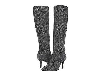 MICHAEL Michael Kors Katerina Boot (Black/Silver) Women