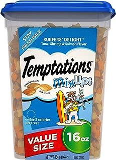 TEMPTATIONS MixUps Treats for Cats, 16 oz. Tub