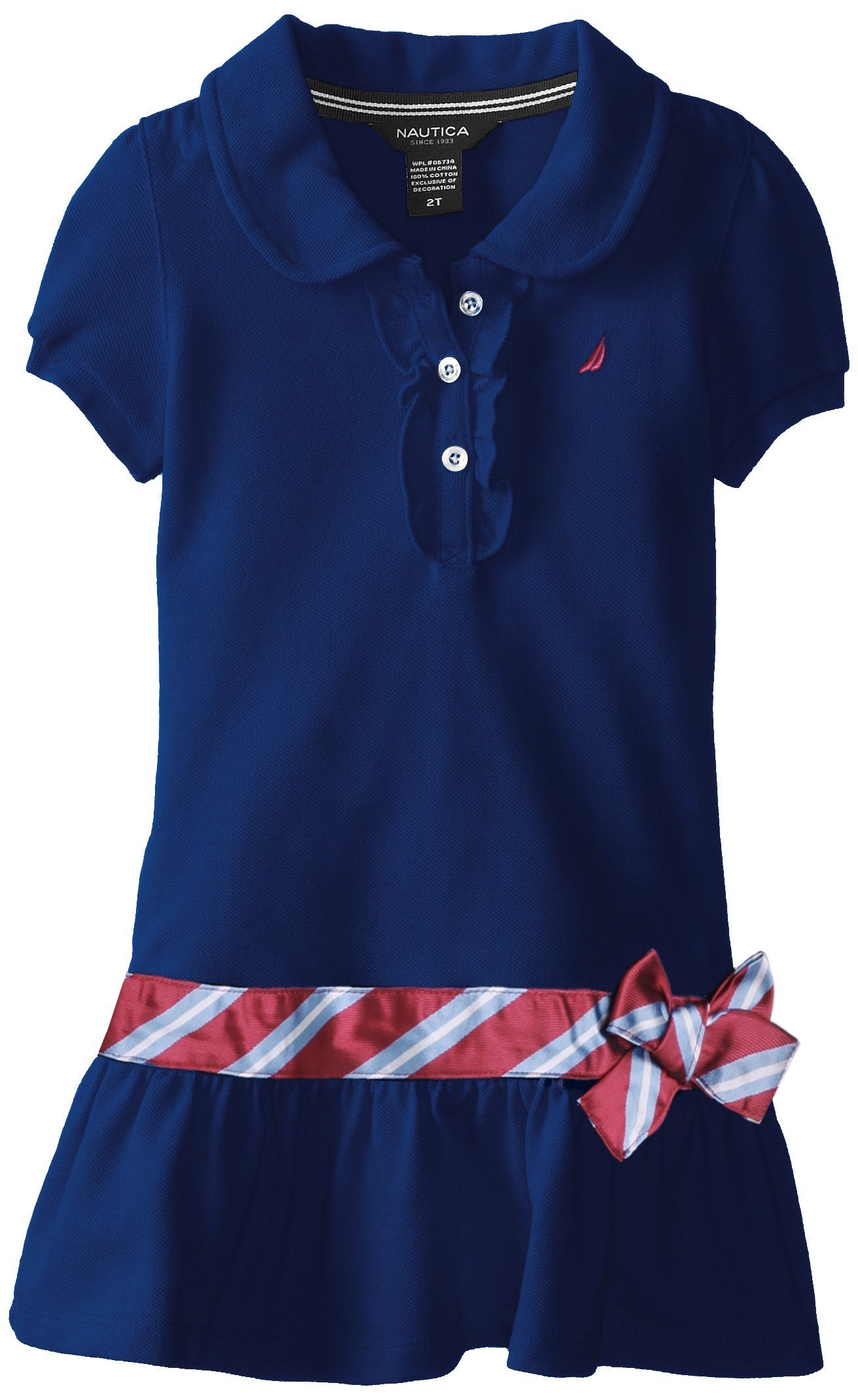 Nautica Little Girls' Pique Polo Dress