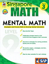 Singapore Math – Mental Math Level 2 Workbook for 3rd Grade, Paperback, 64 Pages, Ages 8–9 with Answer Key