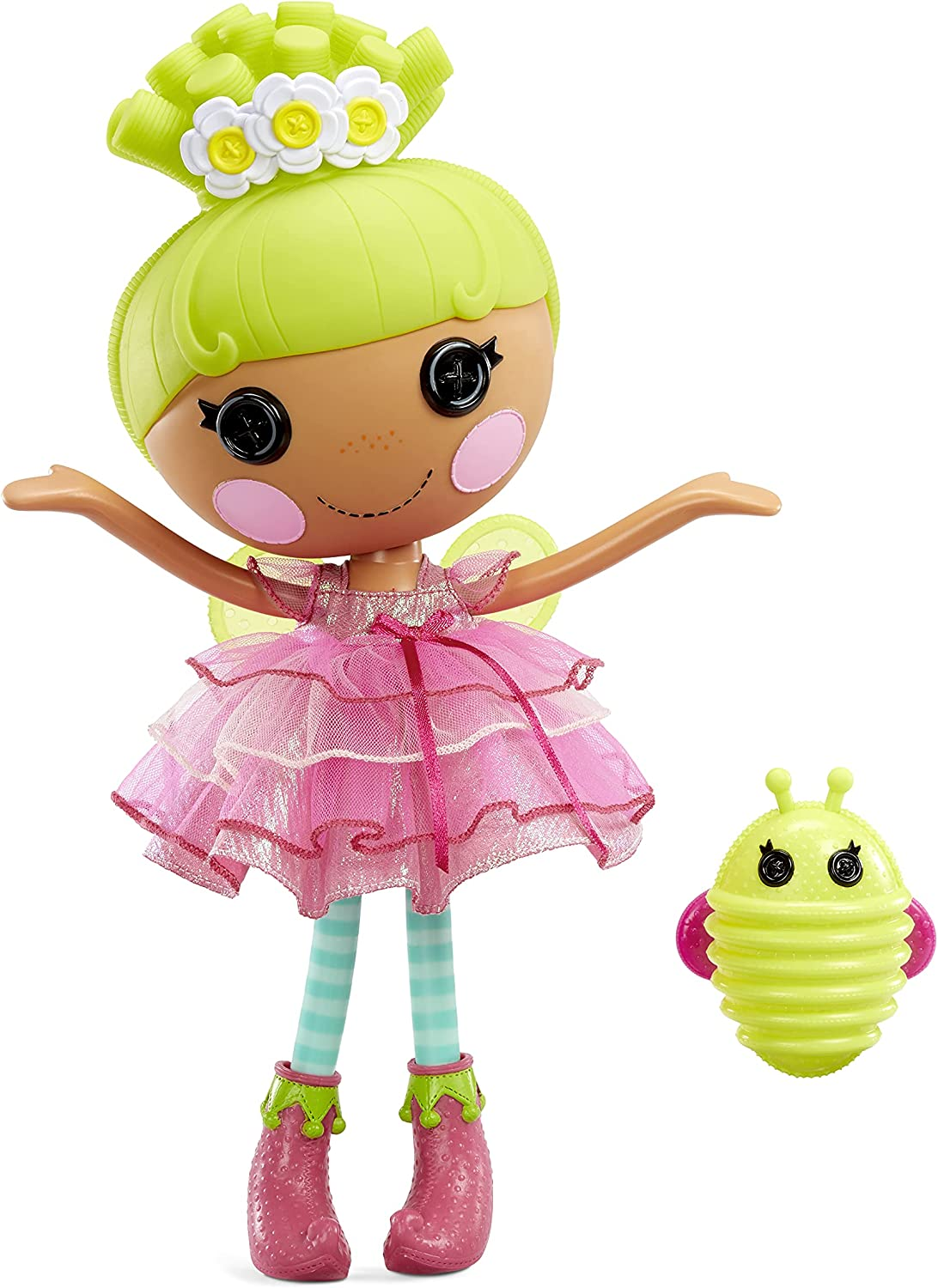 Lalaloopsy Doll - Pix E. Flutters with Pet Firefly, 13