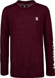 Hurley Boys' Long Sleeve Basic T-Shirt