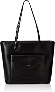 DKNY Womens Shopping Bag, Black (Black/Gold) - R94A3F28