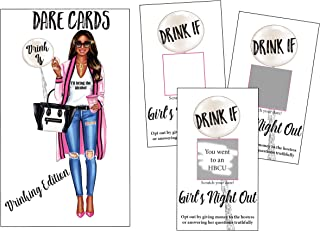 Drinking Edition Scratch Off Game Dare Cards - Funny and Naughty Shower Party Favors