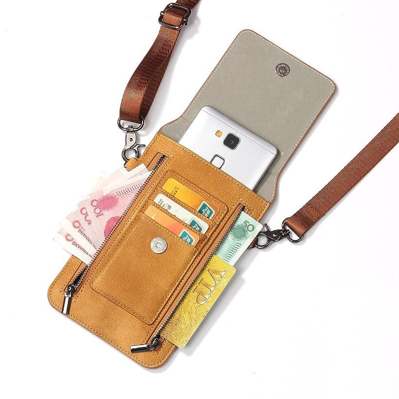 真っ逆さまに沿って健全iPhone XS Max ケース レザー INorton 多機能スマホポーチ 保護カバー 財布型 軽量 カード お金収納 ストラップ付き iPhone X /8/8Plus/7/7Plusなど6.5インチ汎用