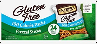 Sponsored Ad - Snyder's of Hanover Gluten Free Pretzel Sticks, 100 Calorie Individual Packs, 24 Count