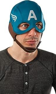 Rubie's Men's Marvel Universe Captain America Winter Soldier Retro Mask, Multicolor, One Size