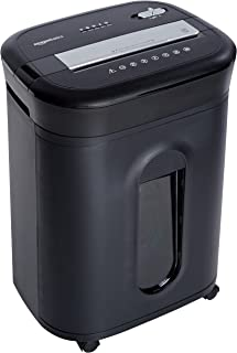Amazon Basics 15-Sheet Cross-Cut Paper, CD Credit Card Office Shredder