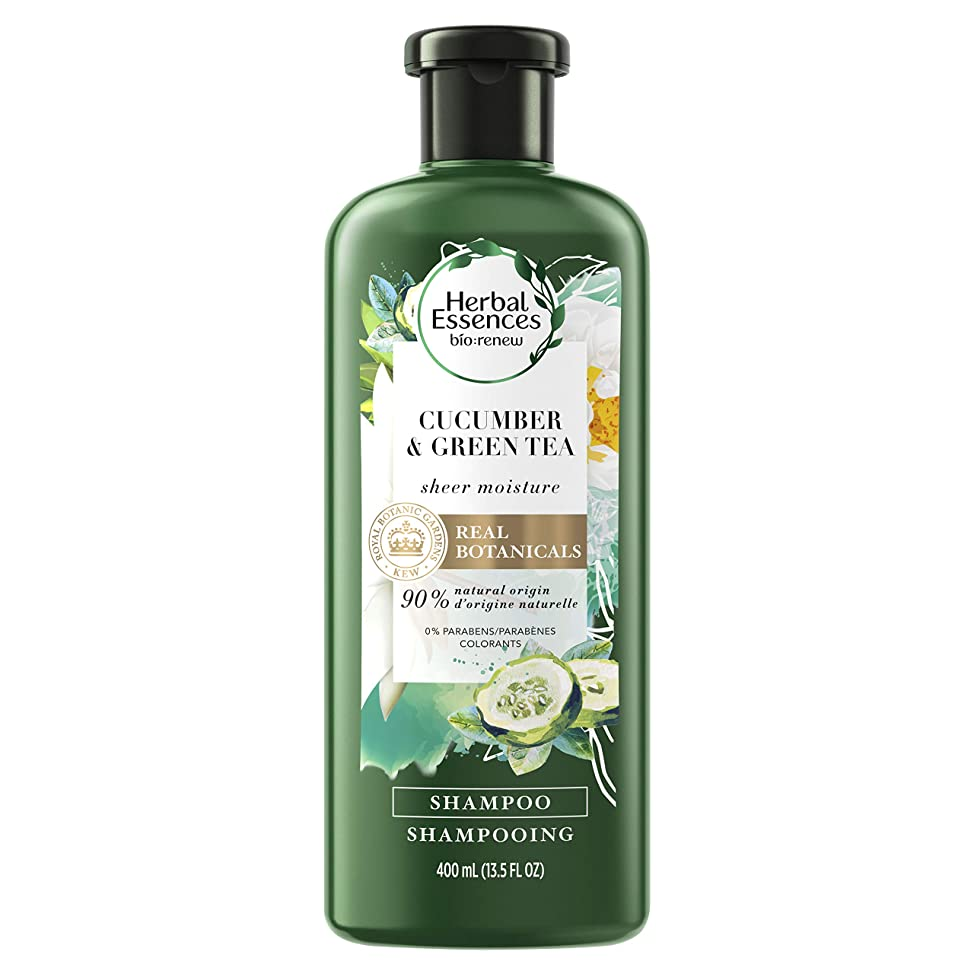 Herbal Essences Cucumber and Green Tea Shampoo, 13.5 Fluid Ounce
