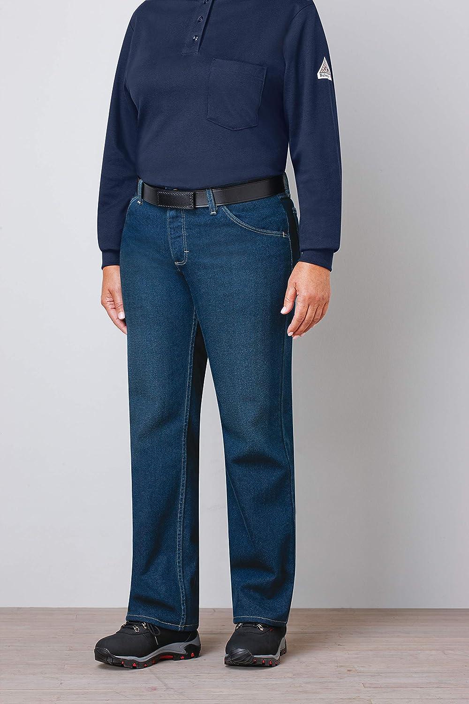 Bulwark Women's Flame Resistant Straight Fit Denim Jean