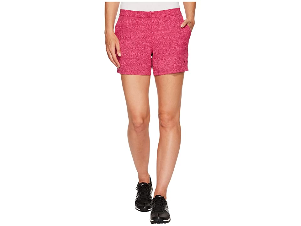 Nike Golf Printed 4.5 Shorts (True Berry/Vivid Pink/True Berry) Women