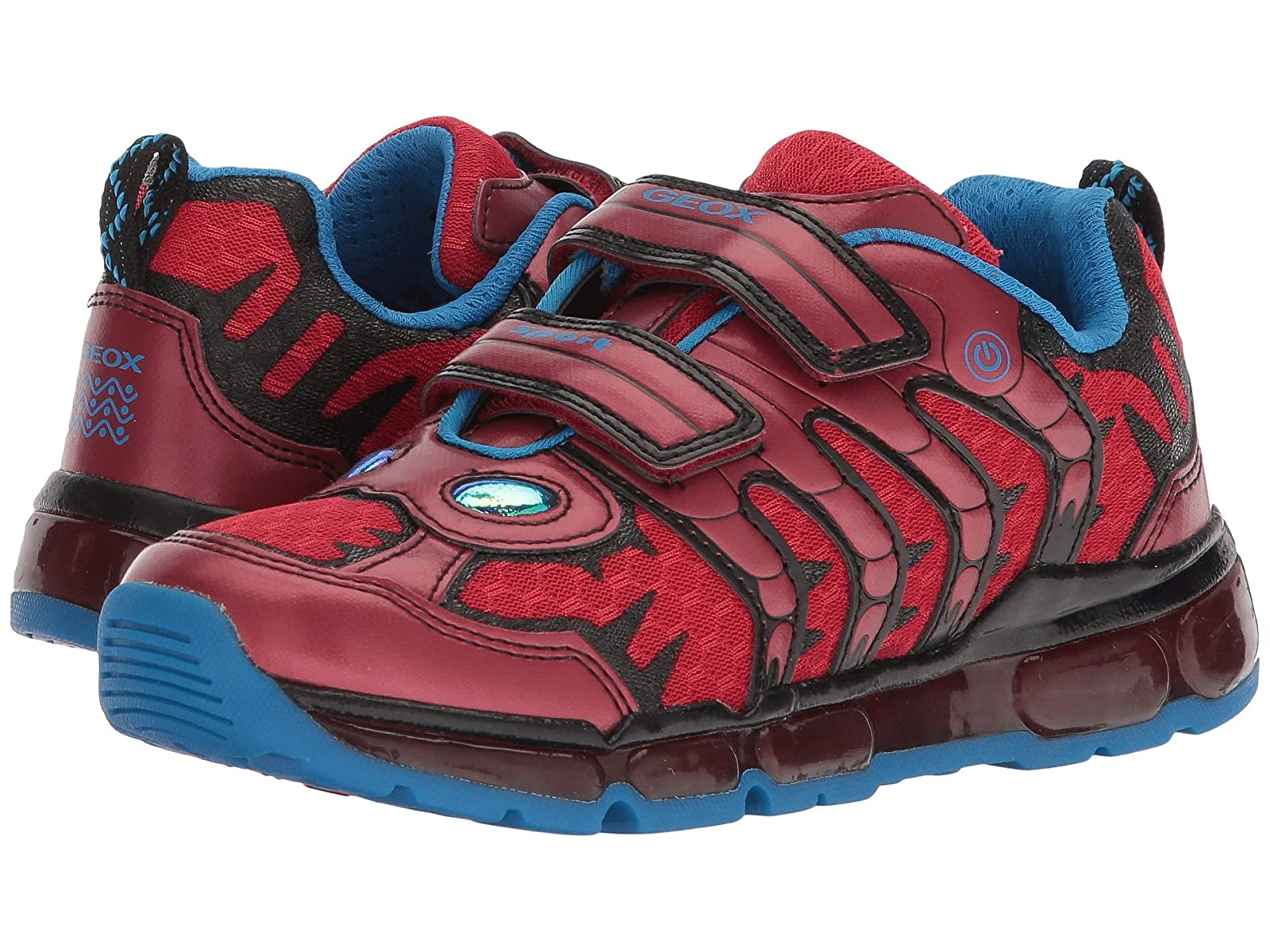Geox Kids Android 16 (Little Kid/Big Kid)Atmospheric grades have affordable shoes
