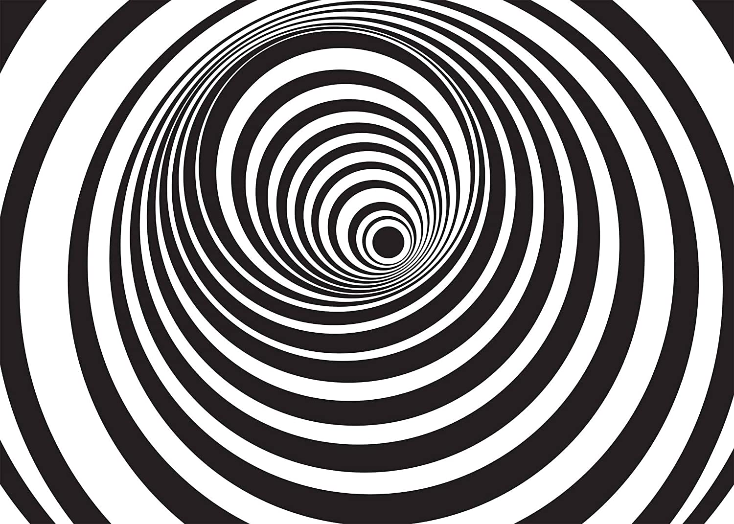 15x10ft Vinyl Black White Stripes Backdrop 3D Sprial Abstract Picture Background Photo Video Studio Props LYGE503 for Party Decoration Birthday YouTube Videos School Photoshoot Photo Background Props