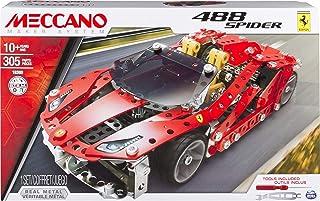 Meccano 90E3A348 Ferrari GTB 488 Spider Model Set
