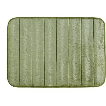 Amazon.com: Memory Foam Bath Mat Non Slip Ultra Soft and Absorbent