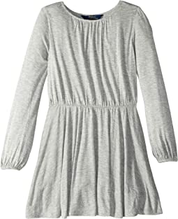 Jersey Fit-and-Flare Dress (Little Kids)