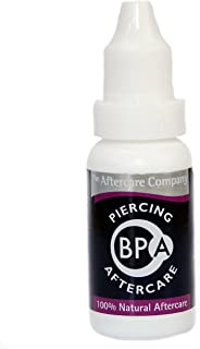 BPA PIERCING AFTERCARE 10ml Bottle from The Aftercare Company
